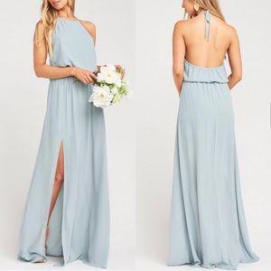 SHOW ME YOUR MUMU Halter Bridesmaid Dress Size S